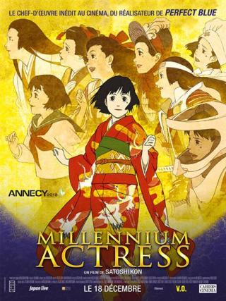 Millenium actress affiche